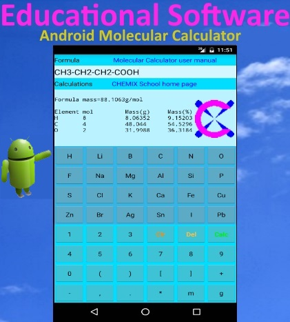 Molecular Calculator for Android
